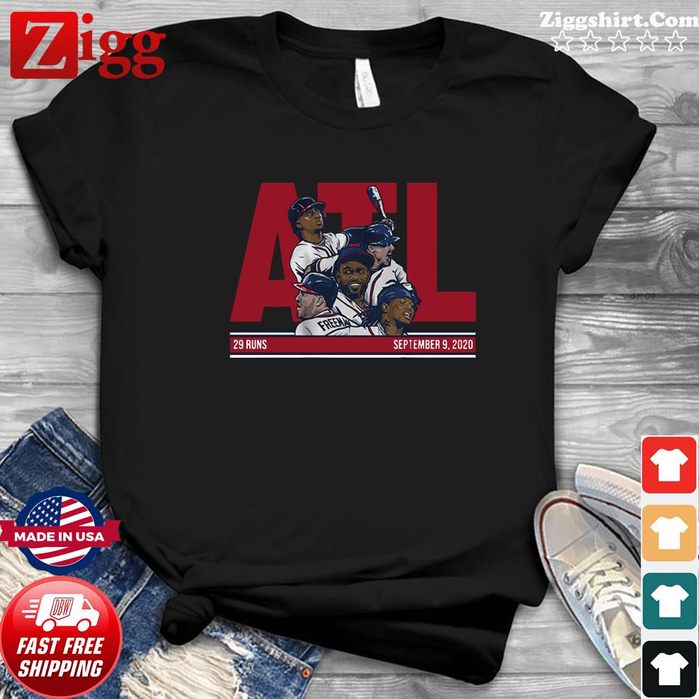 Official ATL 29 Atlanta Baseball Shirt