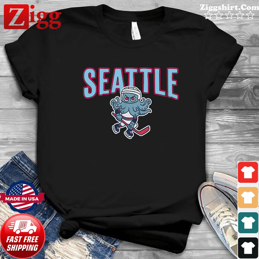 Official Kritty Seattle Kraken T-Shirt