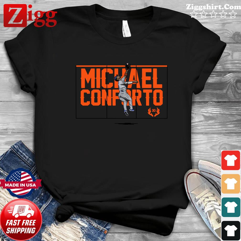 Official Michael Conforto Silky Elk New York Shirt