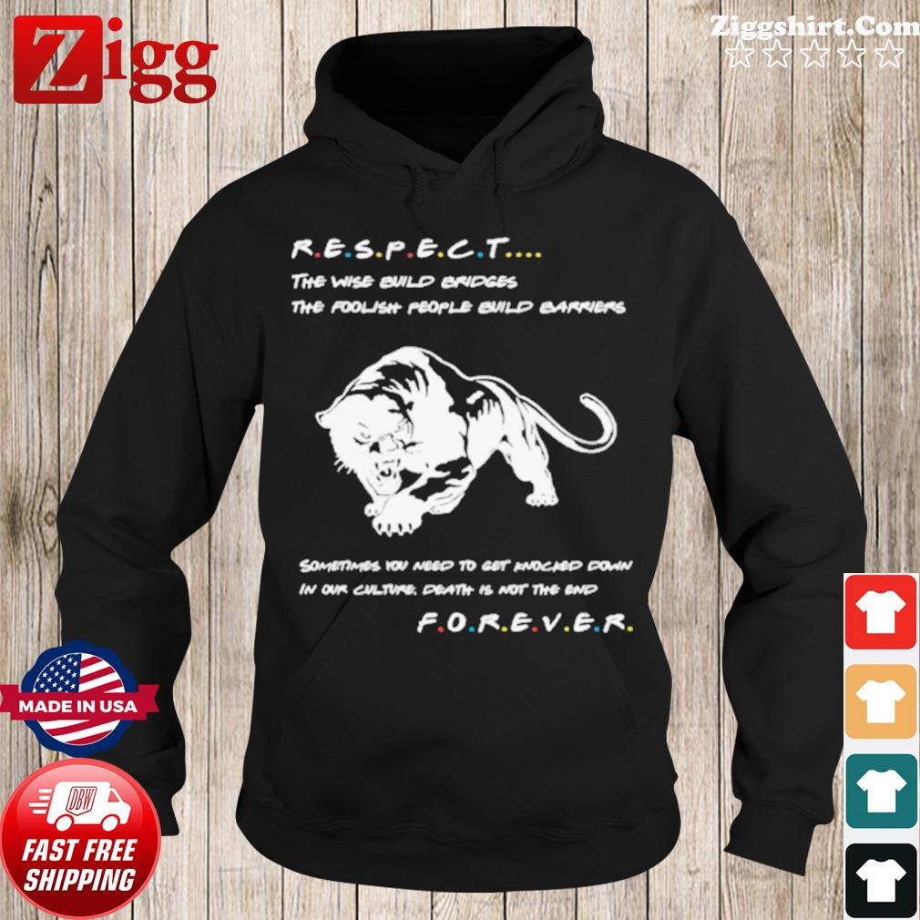 Respect The Wise Build Bridges The Foolish People Build Barriers s Hoodie