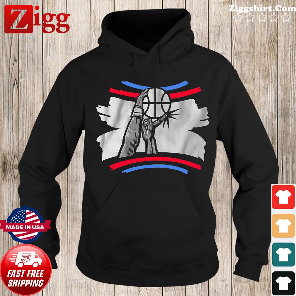 The Finger Block Los Angeles Basketball 2020 Funny Shirt Hoodie