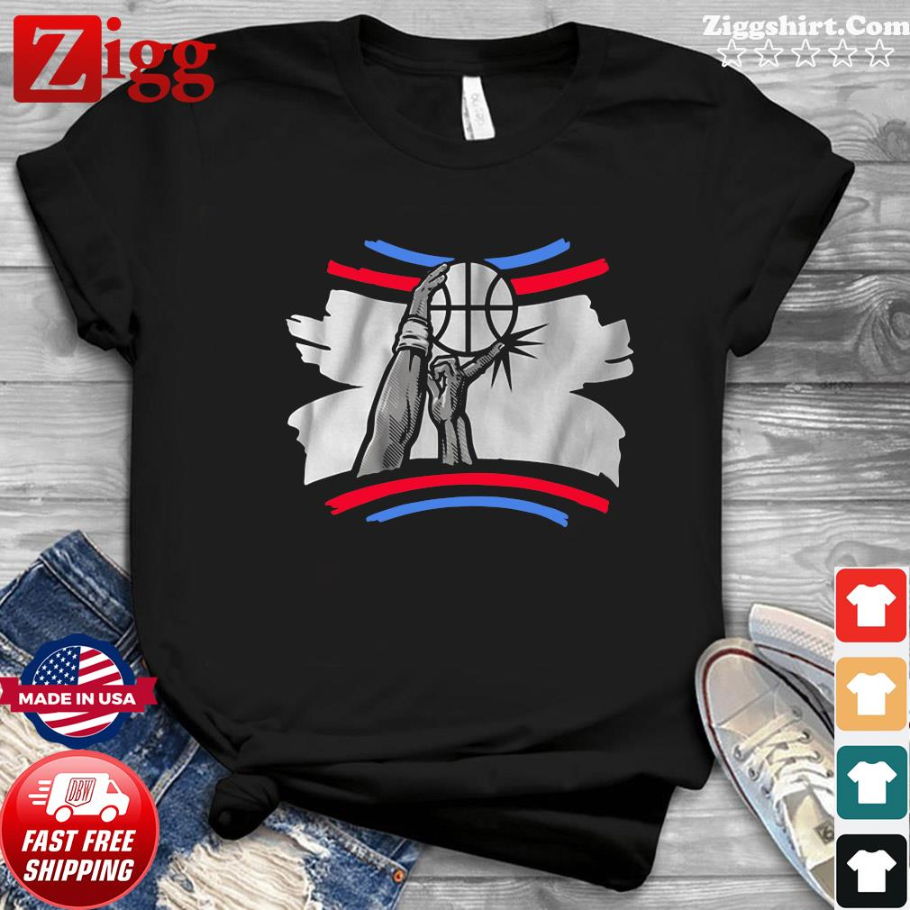 The Finger Block Los Angeles Basketball 2020 Funny Shirt