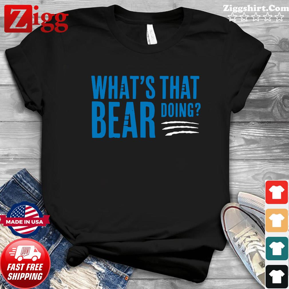 What's that bear doing shirt
