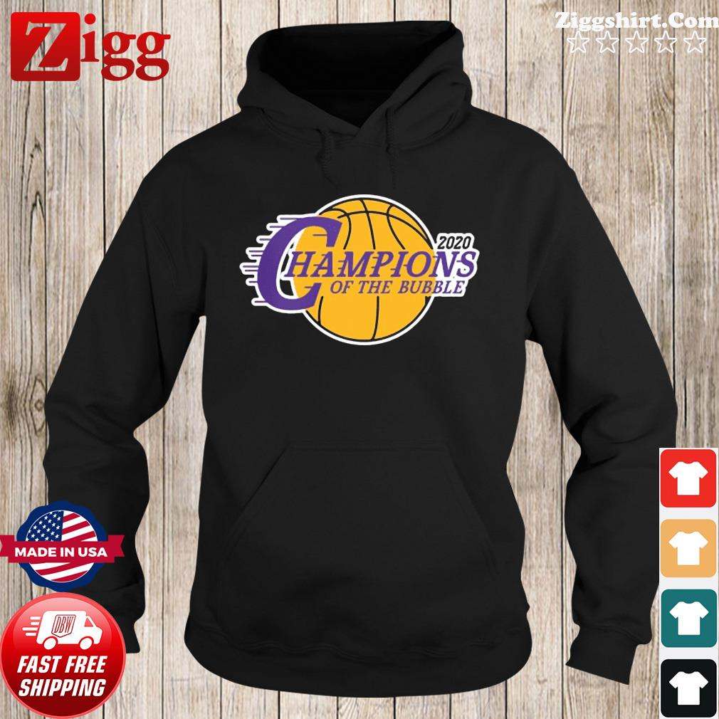 Champions Of The Bubble Basketball 2020 Shirt Hoodie