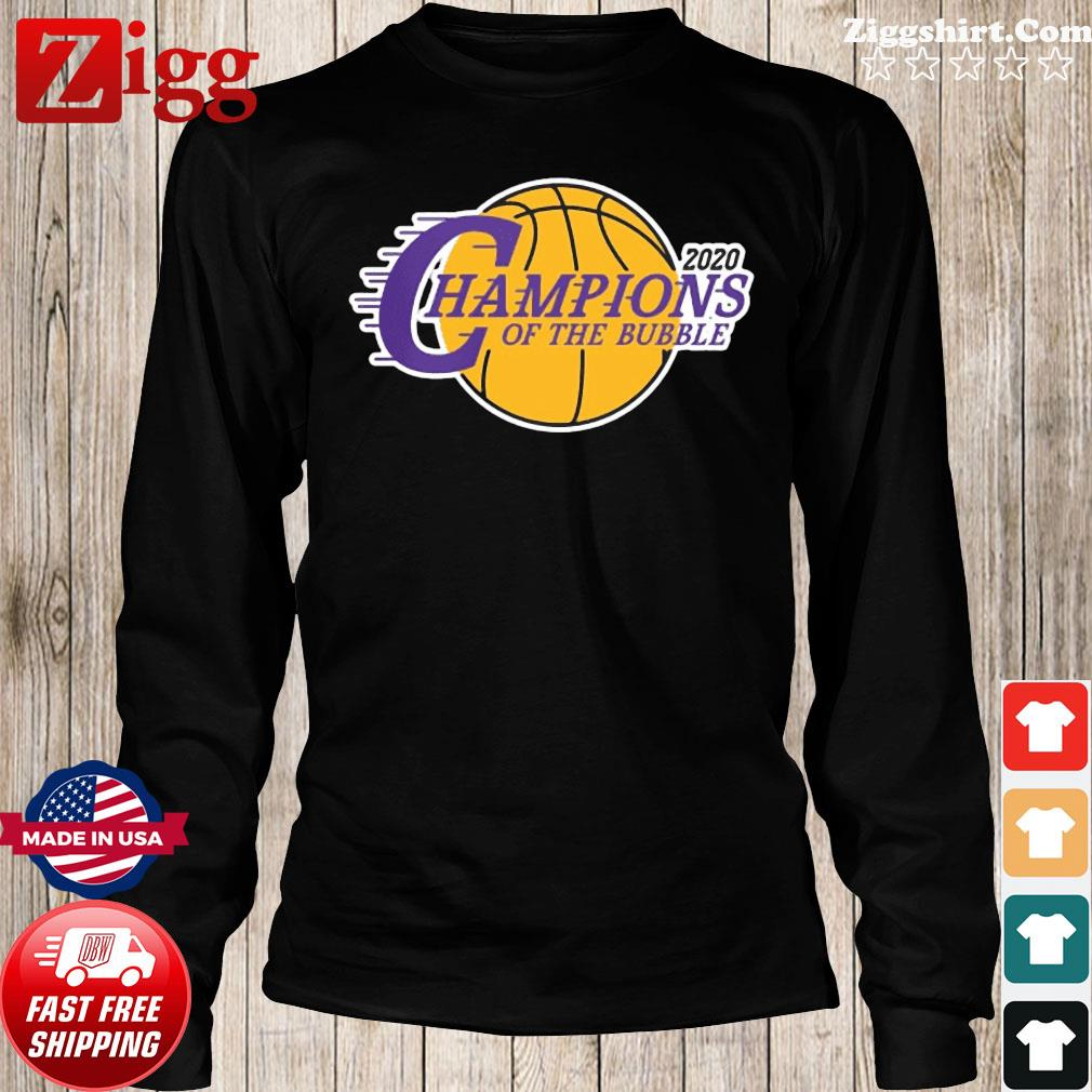 Champions Of The Bubble Basketball 2020 Shirt Long Sweater