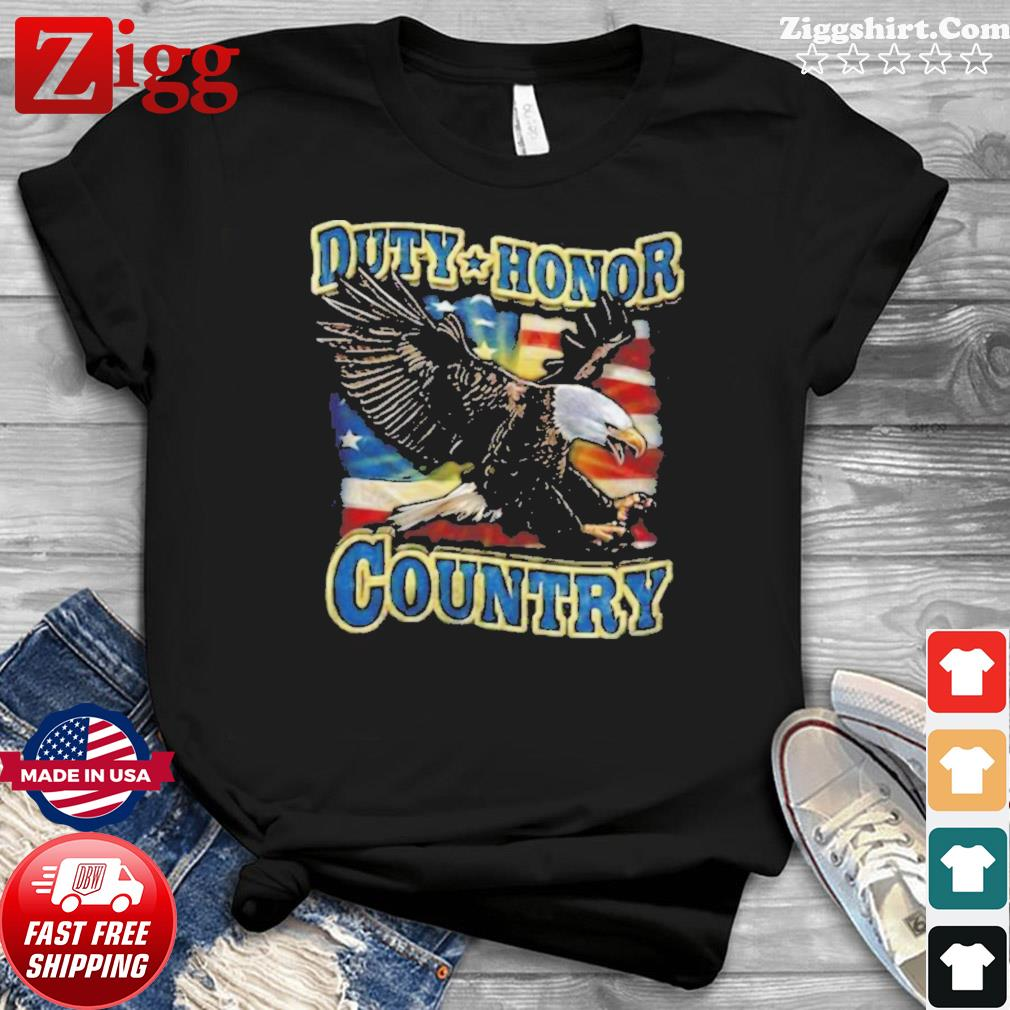 Eagle Duty Honor Country US shirt