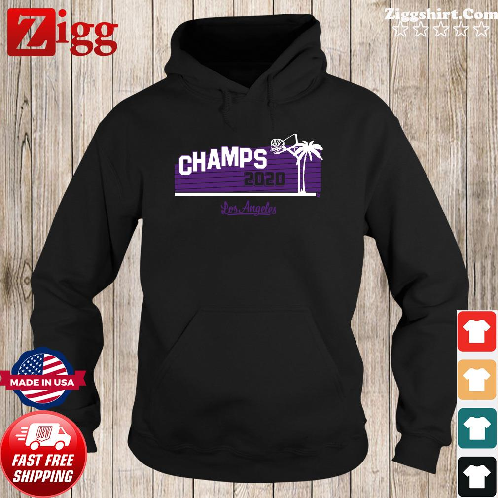 Hollywood Champs Shirt – L.A 2020 Basketball Hoodie