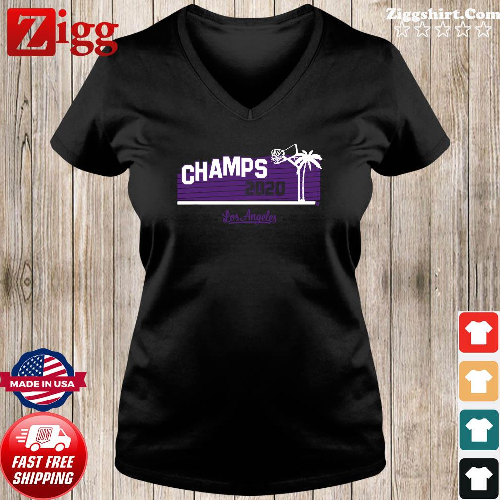 Hollywood Champs Shirt – L.A 2020 Basketball Ladies tee