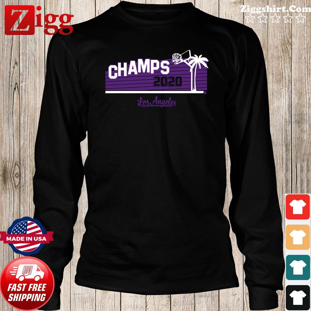 Hollywood Champs Shirt – L.A 2020 Basketball Long Sweater