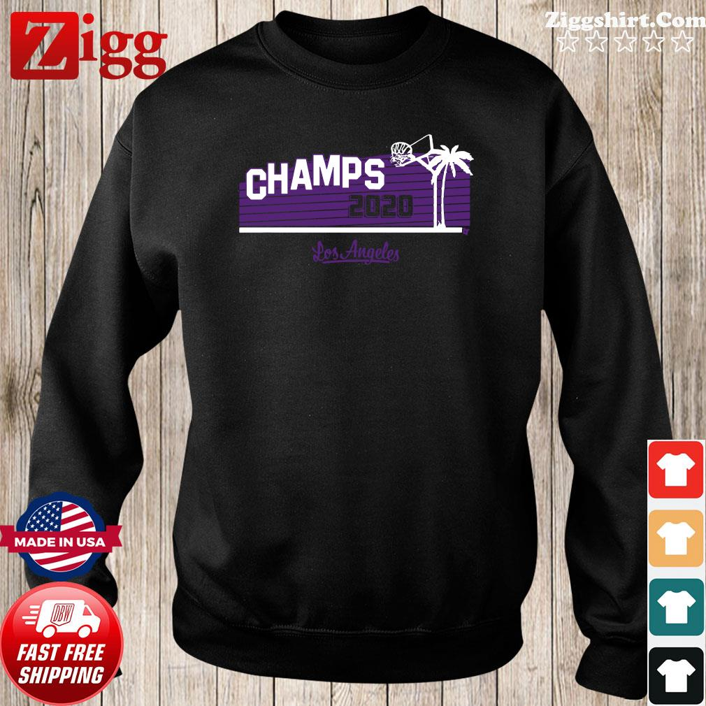 Hollywood Champs Shirt – L.A 2020 Basketball Sweater
