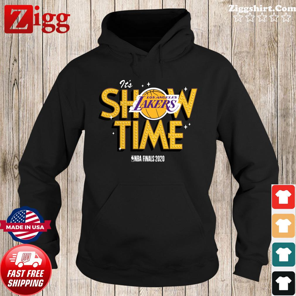 It's Show Time Los Angeles Lakers Nba Finals 2020 Shirt Hoodie