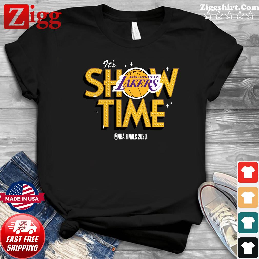 It's Show Time Los Angeles Lakers Nba Finals 2020 Shirt