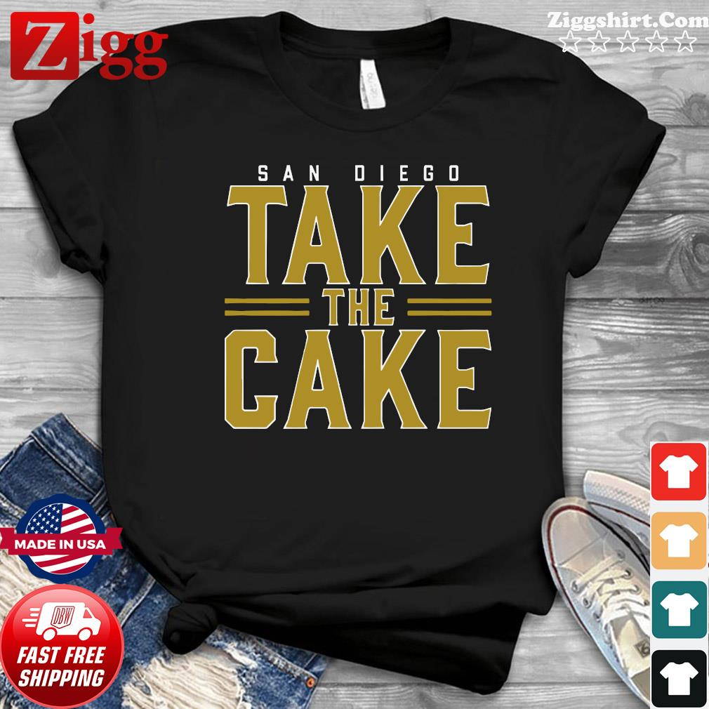 Official Sandiego Take The Cake Shirt