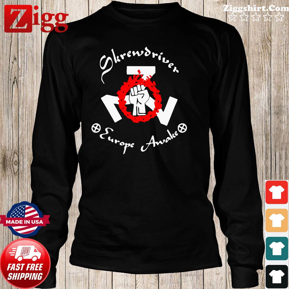 Shane Burley Skrewdriver Europe Shirt Long Sweater