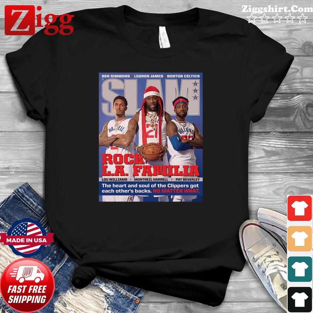 SLAM Cover Shirt – Clippers, Pat, Trez, Lou T-Shirt