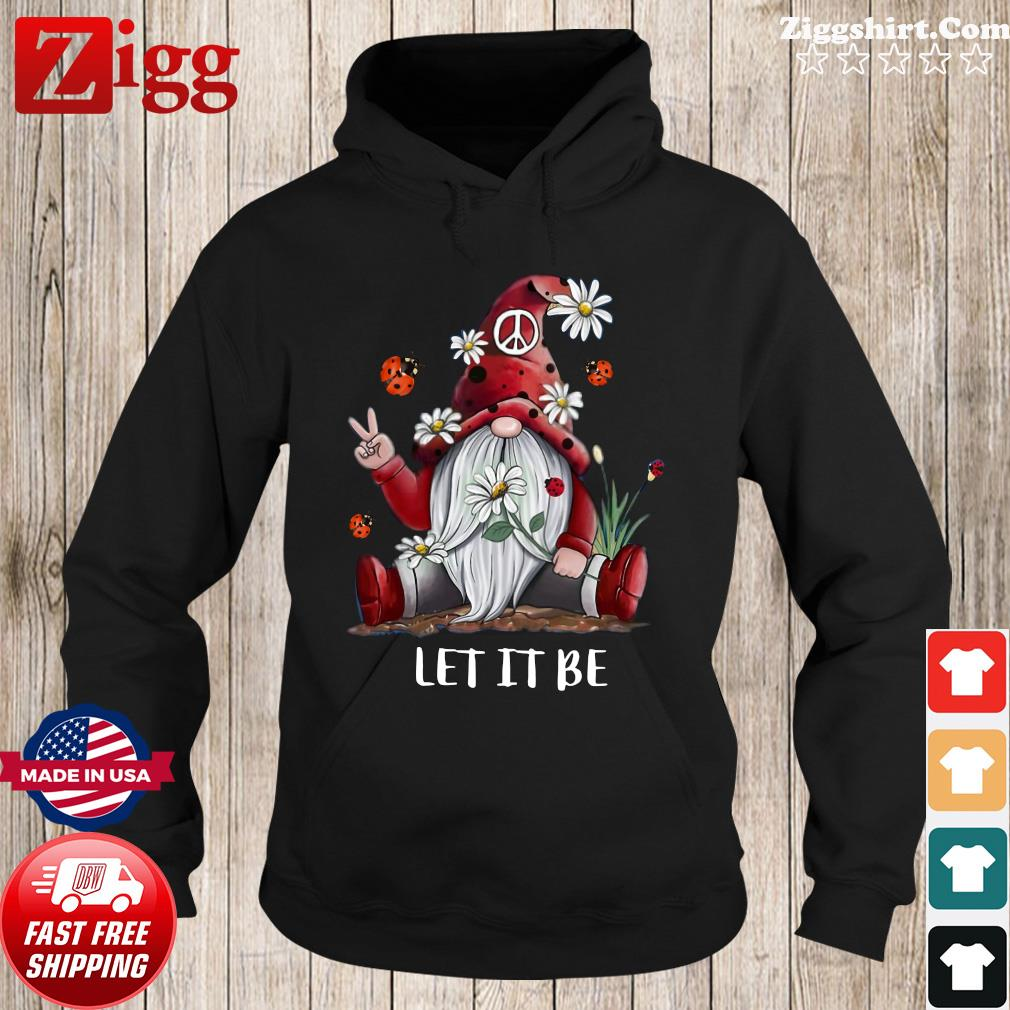 Women's Gnome let it be daisy flower s Hoodie